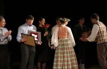 """Nacionalinės dramaturgijos festivalis """"Pakeleivingi″ (2016) - Rolandas Kazlas """"Atrask mane"""" - Sveikinimai aktoriams"""