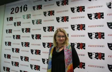 """Nacionalinės dramaturgijos festivalis """"Pakeleivingi″ (2016) - Agnė Dilytė """"Korektūros klaida"""" - Festivalio svečiai"""