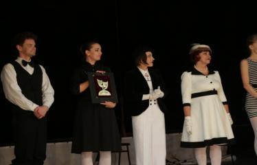 """Nacionalinės dramaturgijos festivalis """"Pakeleivingi″ (2016) - Agnė Dilytė """"Korektūros klaida"""" - Aktoriai"""