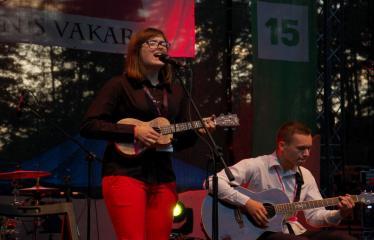"""Festivalis """"Purpurinis vakaras"""" (2016) - Penktadienio vakaro koncertas - Aido ir Regitos duetas"""