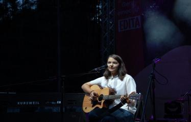 """Festivalis """"Purpurinis vakaras"""" (2016) - Penktadienio vakaro koncertas - Emilija Statinaitė"""