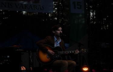 """Festivalis """"Purpurinis vakaras"""" (2016) - Penktadienio vakaro koncertas - Faustas Petriškis"""