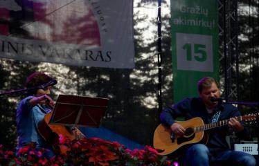 """Festivalis """"Purpurinis vakaras"""" (2016) - Didysis festivalio pabaigos koncertas - Giedrius ir Agnė Arbačiauskai"""
