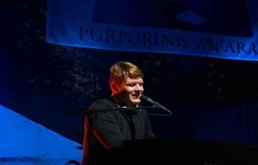 """Festivalis """"Purpurinis vakaras"""" (2016) - Penktadienio vakaro koncertas - Juozapas Liaugaudas"""