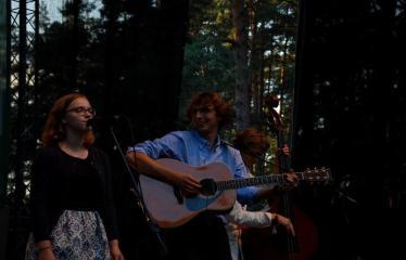 """Festivalis """"Purpurinis vakaras"""" (2016) - Penktadienio vakaro koncertas - Nacionalinis bardų festivalis """"Purpurinis vakaras"""" (2016) - Liucija Vaicenavičiūtė"""