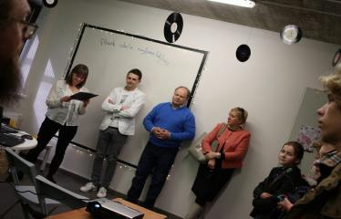 Idėjų Labo grafinio dizaino studijos atidarymas - Renginio svečiai ir organizatoriai