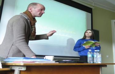 Seimo nario, konservatorius Roko Žilinsko viešojo kalbėjimo pamoka - Užduotis mokiniams, paskaitą veda Rokas Žilinskas
