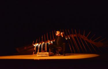 """Tarptautinis mėgėjų teatrų festivalis """"ARTimi"""" (2017) - Spektaklis """"Teatro fragmentas 1"""", """"Ateina ir išeina"""" - Aktorius Žilvinas Pranas Smalskas"""