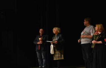 """Tarptautinis mėgėjų teatrų festivalis """"ARTimi"""" (2017) - Spektaklis """"Teatro fragmentas 1"""", """"Ateina ir išeina"""" - Režisierius Jonas Buziliauskas, Dijana Petrokaitė, režisierius Tiit Alte, aktorės S. Šerelienė, J. Gnedova"""