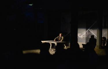 """Tarptautinis mėgėjų teatrų festivalis """"ARTimi"""" (2017) - Spektaklis """"Prieblandoje"""" - aktorė Audronė Pajarskienė"""