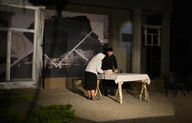 """Tarptautinis mėgėjų teatrų festivalis """"ARTimi"""" (2017) - Spektaklis """"Prieblandoje"""" - Aktorius Robertas Raišelis"""
