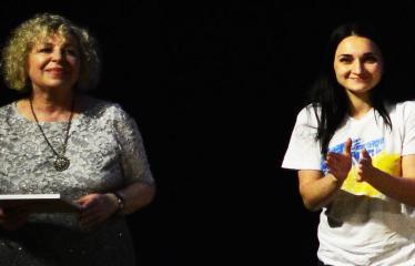 """Tarptautinis mėgėjų teatrų festivalis """"ARTimi"""" (2017) - Spektaklis """"1984"""" - Anykščių Kultūros centro direktorė Dijana Petrokaitė"""