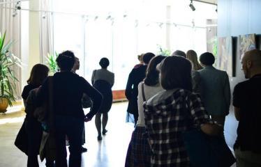 """Tarptautinis mėgėjų teatrų festivalis """"ARTimi"""" (2017) - Spektaklis """"Ne aš"""" - Publika"""