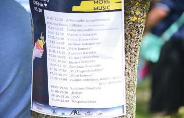 Gatvės muzikos diena Anykščiuose (2017) - Programa