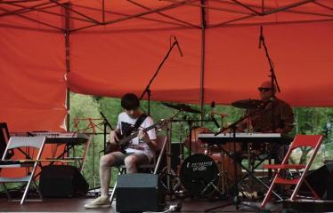 Gatvės muzikos diena Anykščiuose (2017) - Koncerto akimirka