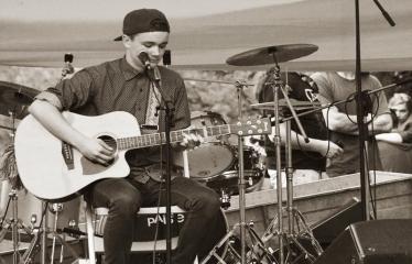 Gatvės muzikos diena Anykščiuose (2017) - Aurimas Bareikis