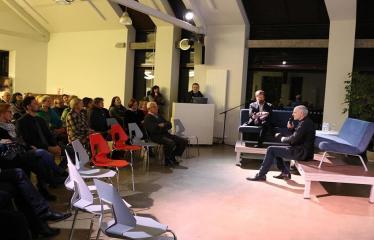 Vidmanto Šmigelsko įspūdžių iš kelionės po Sibirą pasidalijimo vakaras - Renginio akimirka