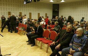 Teresės Mikeliūnaitės kultūros premijos laureato Žilvino Prano Smalsko pagerbimo vakaras - Renginio svečiai