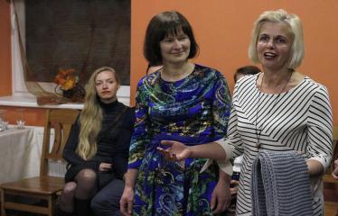 Teresės Mikeliūnaitės kultūros premijos laureato Žilvino Prano Smalsko pagerbimo vakaras - Sveikina draugai ir kolegos