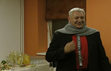 Teresės Mikeliūnaitės kultūros premijos laureato Žilvino Prano Smalsko pagerbimo vakaras - Šilčiausia dovana Žilvinui nuo draugų