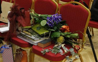 Teresės Mikeliūnaitės kultūros premijos laureato Žilvino Prano Smalsko pagerbimo vakaras - Dovanos