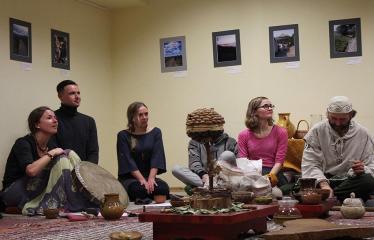 Sutartinių ir arbatos magija - Šventės akimirka