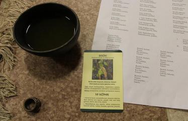 Sutartinių ir arbatos magija - Renginio akimirka