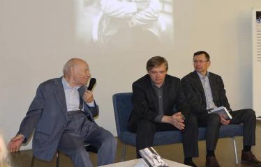 """Bronislovo Genzelio knygos """"Politikos laisvamanio užrašai: sovietmetis, Sąjūdis, nūdiena"""" pristatymas ir diskusija - Kalba Kovo 11-osios Akto signataras, profesorius Bronislovas Genzelis"""