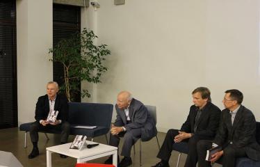 """Bronislovo Genzelio knygos """"Politikos laisvamanio užrašai: sovietmetis, Sąjūdis, nūdiena"""" pristatymas ir diskusija - Kalba """"Versmės"""" leidyklos vadovas Petras Jonušas"""