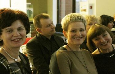 Bibliotekos 80-ojo gimtadienio šventė - Švetės akimirka
