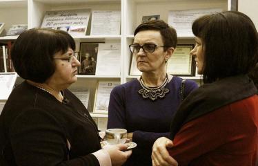 Bibliotekos 80-ojo gimtadienio šventė - Šventės akimirka