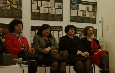 Bibliotekos 80-ojo gimtadienio šventė - Diskusijos akimirka