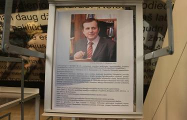 Bibliotekos 80-ojo gimtadienio šventė - Literatūrinės Antano Baranausko premijos įteikimo iškilmės - Antanas Verbickas
