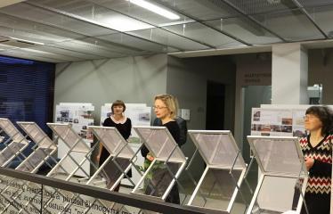 Bibliotekos 80-ojo gimtadienio šventė - Literatūrinės Antano Baranausko premijos įteikimo iškilmės - Šventės akimirka