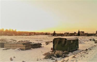 """Fotokonkursas """"Anykščiai ir apylinkės"""" (2017) - Naujieji Elmininkai žiemą"""