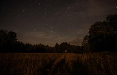 """Fotokonkursas """"Anykščiai ir apylinkės"""" (2017) - Vasaros naktis"""