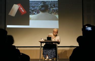 Japoniškų šokių, tradicinio teatro grimo ir kimono pristatymas - Takamasa Fudžima