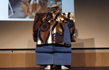 Japoniškų šokių, tradicinio teatro grimo ir kimono pristatymas - Kostiumas