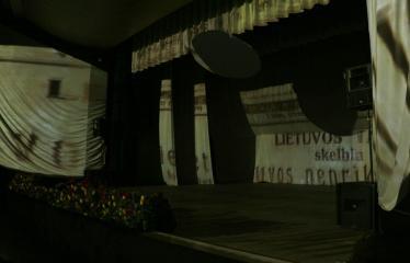 """Lietuvos valstybės atkūrimo diena Anykščiuose (2018) - Šimtmečio anykštėno ženklo įteikimas ir AKC Meno mėgėjų koncertas """"Man gera čia gyventi, nes..."""" - Renginio akimirka"""