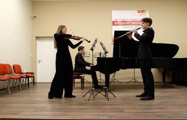 """Tarptautinis kamerinių ansamblių konkursas """"Muzikinė akvarelė"""" (2018) - Pirmoji diena - Vaikų pasirodymai"""