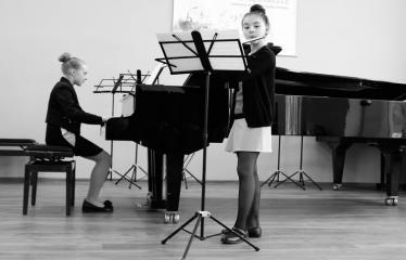 """Tarptautinis kamerinių ansamblių konkursas """"Muzikinė akvarelė"""" (2018) - Antroji diena - Vaikų pasirodymai"""