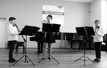 """Tarptautinis kamerinių ansamblių konkursas """"Muzikinė akvarelė"""" (2018) - Antroji diena - Koncertuoja vaikai"""