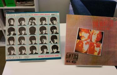 """Popietė """"Mano plokštelė"""" su melomanu R. Guobiu ir """"The Beatles""""! - Vinilinės plokštelės"""