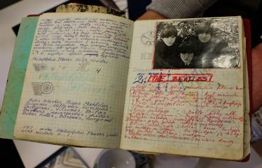 """Popietė """"Mano plokštelė"""" su melomanu R. Guobiu ir """"The Beatles""""! - R. Guobio asmeninis archyvas"""