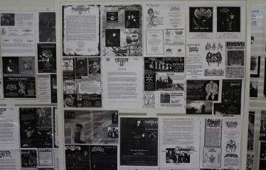 """D. Žičkaus knygos """"Stabmeldžio memuarai"""" sutiktuvės - Dainiaus Žičkaus asmenio archyvo paroda"""