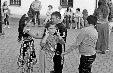"""Tarptautinė edukacinė stovykla - festivalis """"Troškimai"""" (2018) - Roko vakaras - Renginio akimirka"""