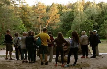 """Anykščių Miško festivalis (2018) - Festivalio atidarymas - """"Anykščių šilelio"""" 160-tas gimtadienis - Žygio pabaiga - Puntukas"""