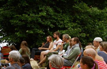 Anykščių Miško festivalis (2018) - Miško forumas - Idėjų suneštinis - Festivalio akimirka