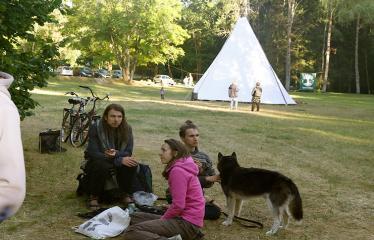 Anykščių Miško festivalis (2018) - Panirimas į mišką - Festivalio akimirka