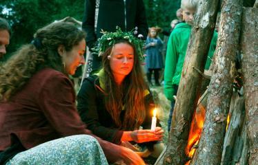 Anykščių Miško festivalis (2018) - Rasos - Ritualinis laužo uždegimas